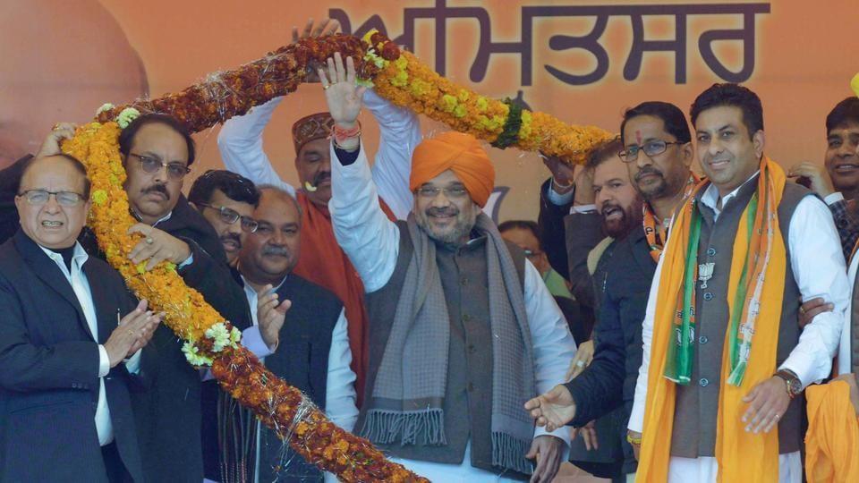 Amit Shah slams UP's poor law and order, attacks '2 princes'