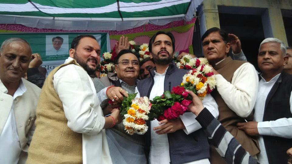 RLD general secretary Jayant Chaudhary hopes to rebuild his grandfather Charan Singh's Jat-Muslim coalition.