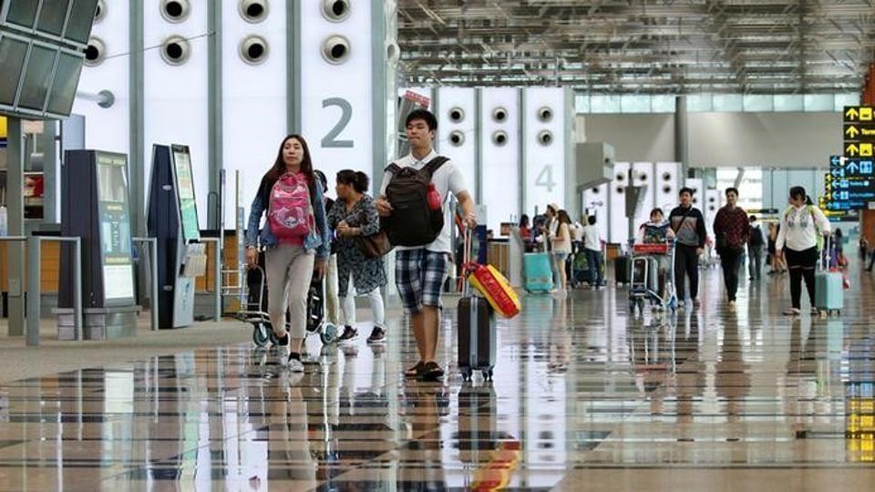 Singapore's Changi Airport Terminal 3.