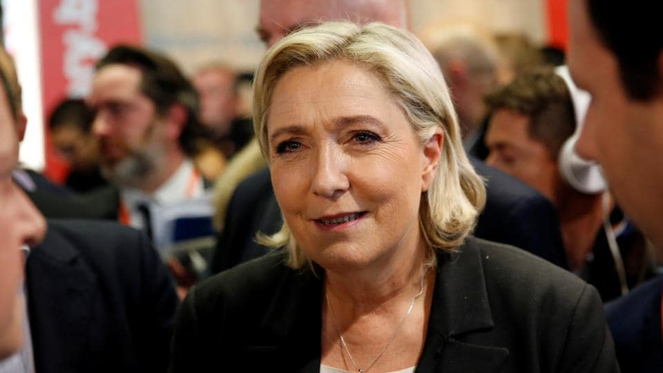 Marine Le Pen, French National Front (FN) political party leader and candidate for French 2017 presidential election.