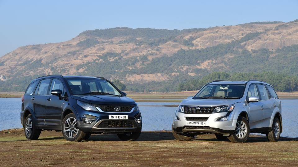 Tata Hexa Vs Mahindra Xuv500 Who Wins The Battle Of The