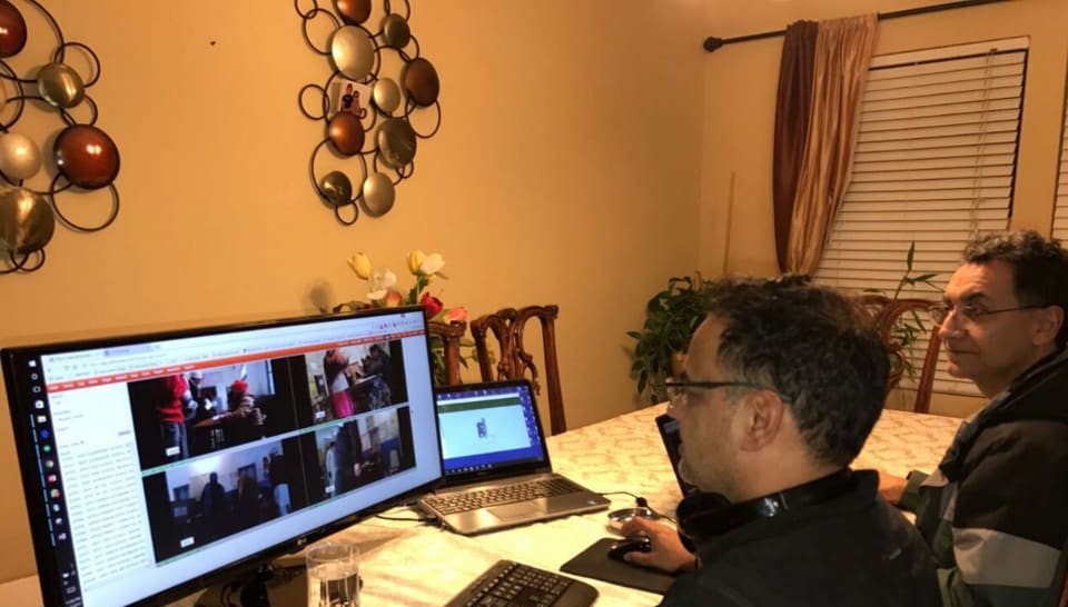 NRIs in Seattle watching the elections back home in Punjab.