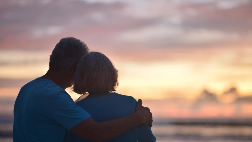 Men become interested in older women as they themselves age.