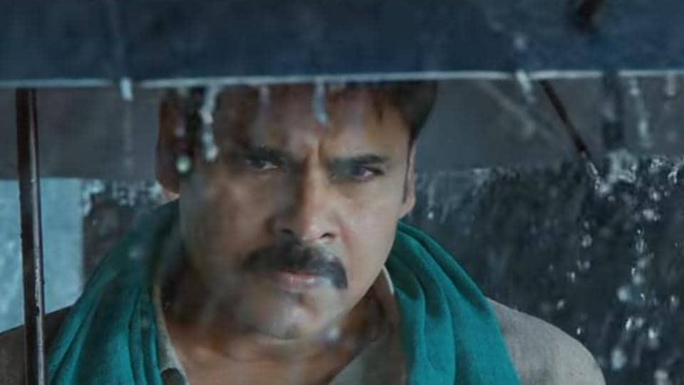 The 50-second teaser features Pawan Kalyan in a dhoti-clad avatar, sporting a twirled moustache and displaying never-seen-before swag.