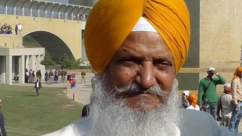 Hira Singh Gabria, senior SAD leader and former minister, Punjab.
