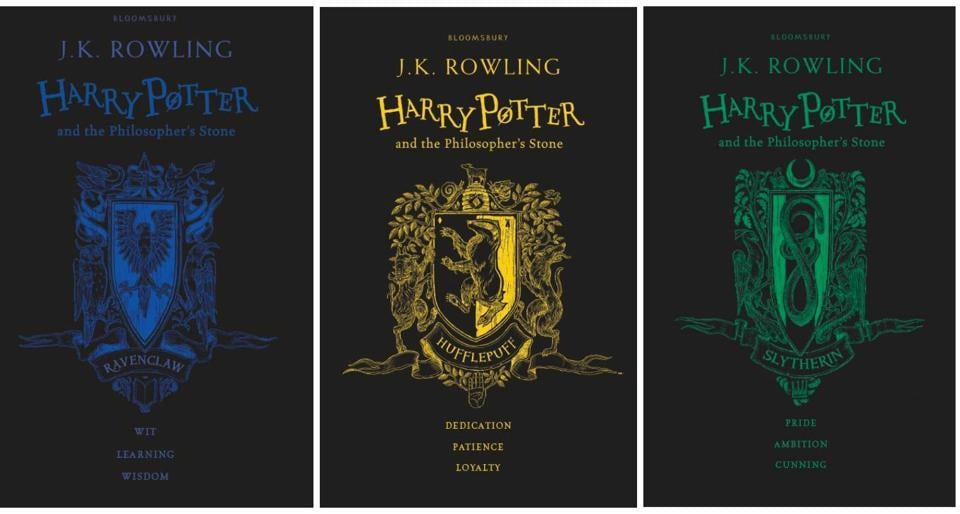 Harry Potter Book Year Release ~ New book jackets of harry potter and the philosopher s