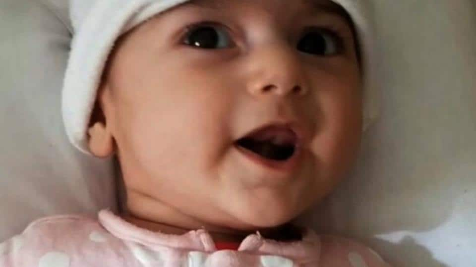 Baby Fatemeh will be travelling to the US for a life saving surgery.