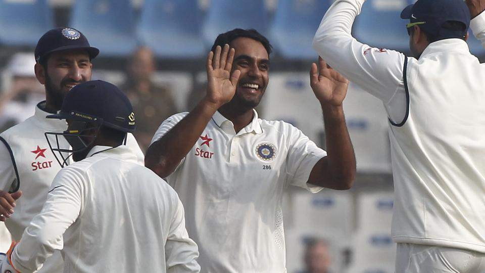 Jayant Yadav had a great start to his Test career in the India vs England Test series.