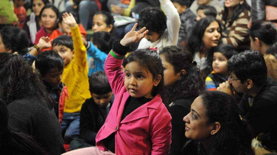 Expats from NCR and Gurgaon residents took part in storytelling, book signing, reading, puppet shows, writing workshops, panel discussions and parent workshops at the children's lit fest currently under way  in Gurgaon.