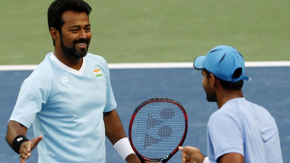 Leander Paes and Vishnu Vardhan is clashing against New Zealand's Artem Sitak and Michael Venus in a Davis Cup Asia-Oceania Group 1 doubles tie at Pune's Balewadi Sports Complex on Saturday. India lead 2-0. Catch live tennis score and live updates.