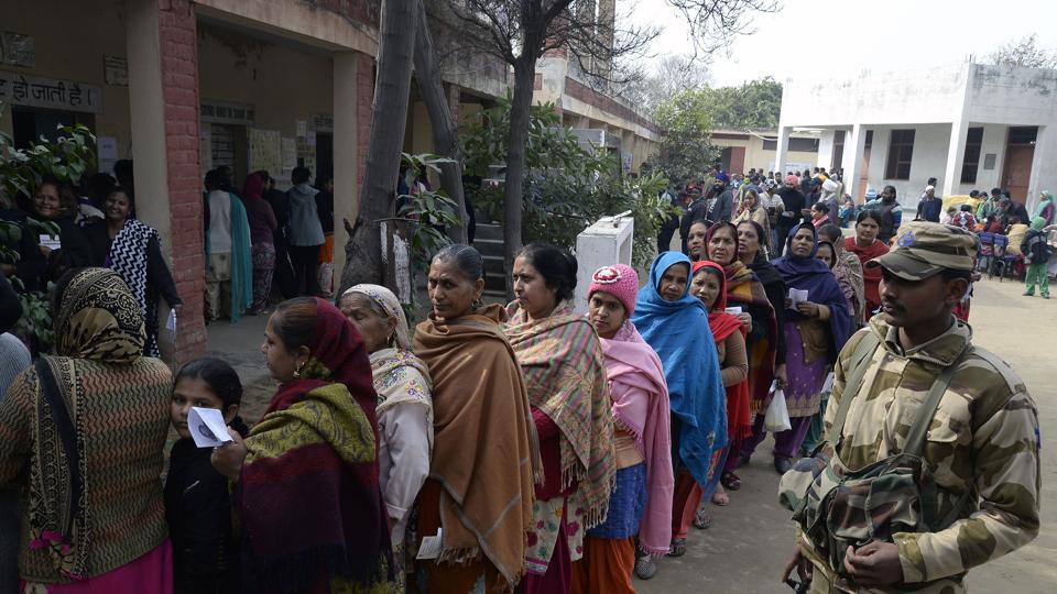 Punjab polls,Goa polls,Polling begins