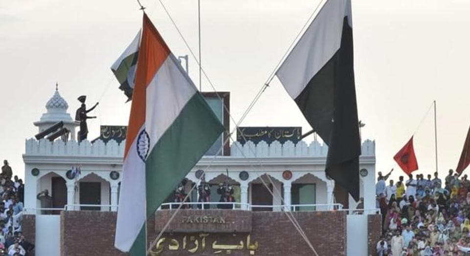 A five-year-old Pakistani boy was reunited with his mother on Saturday at the Wagah-Attari border crossing.