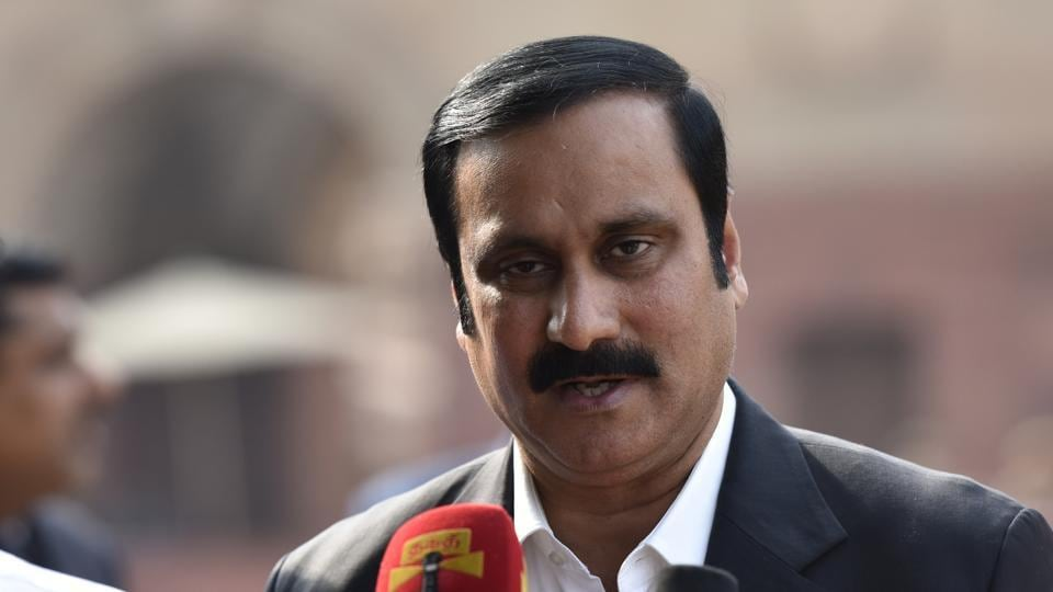 PMK leader and Lok Sabha member Anbumani Ramadoss  is a former union health minister and son of party founder S Ramadoss.