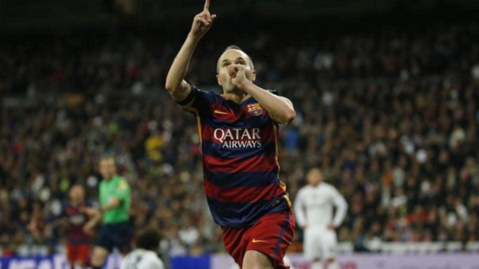 FC Barcelona,Athletic Bilbao,Andres Iniesta