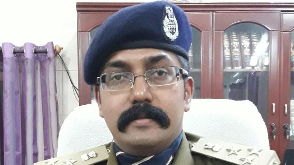 Sunderraj P, DIG Dantewada and in-charge IG Bastar.