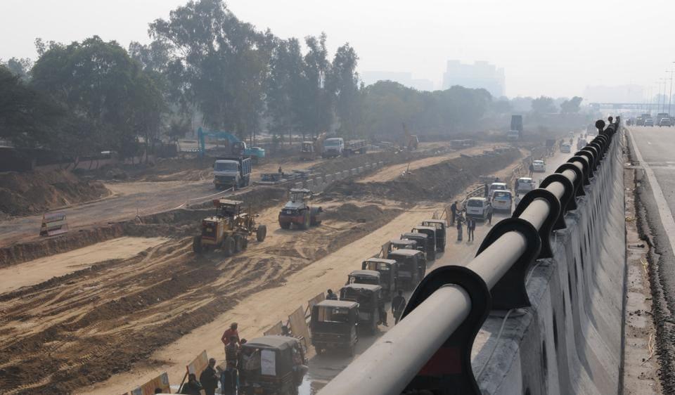 Gurgaon,Rajiv Chowk,NHAI