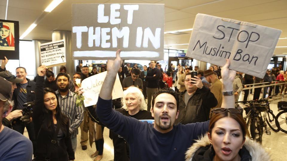 Trump's immigration ban,Trump Muslim ban,US visas
