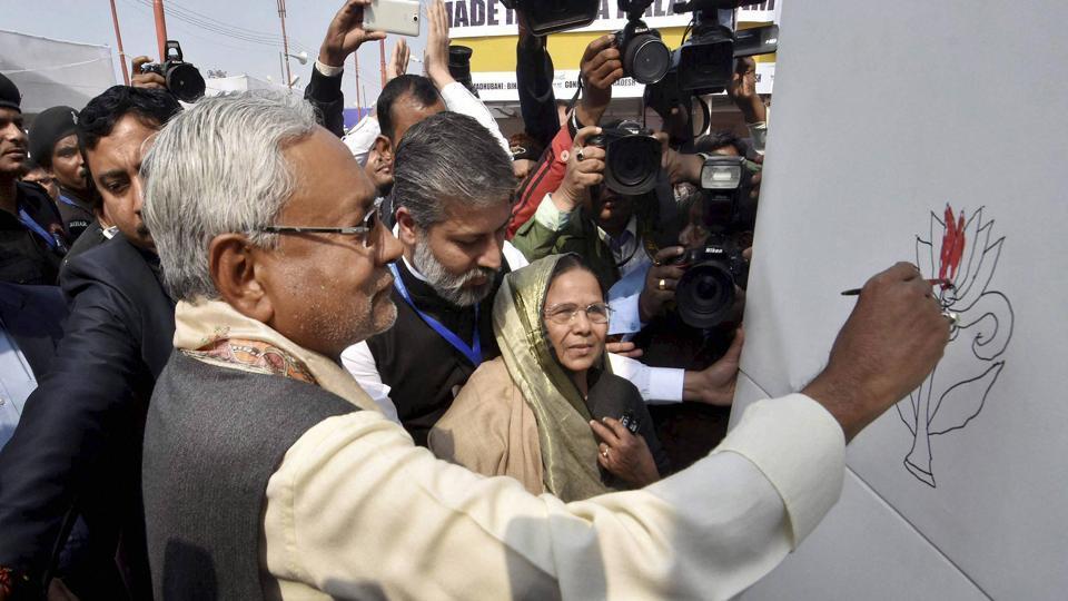 Nitish Kumar,Lotus,BJP-JD(U)