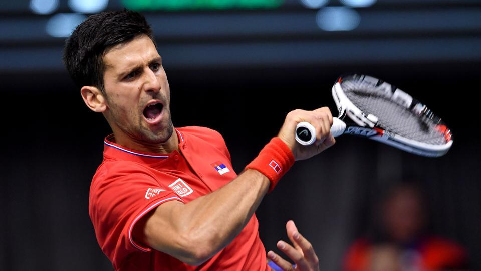 Serbia have progressed to the quarter-finals of the Davis Cup World Group and they have set up a potential clash with Spain.