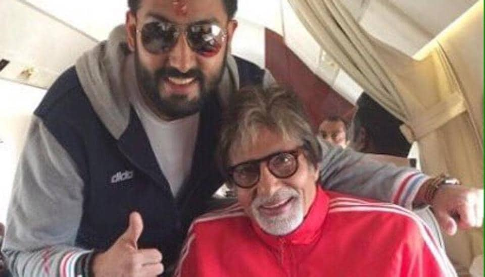 Amitabh Bachchan shared pictures from Abhishek's childhood to wish for his birthday on Sunday.