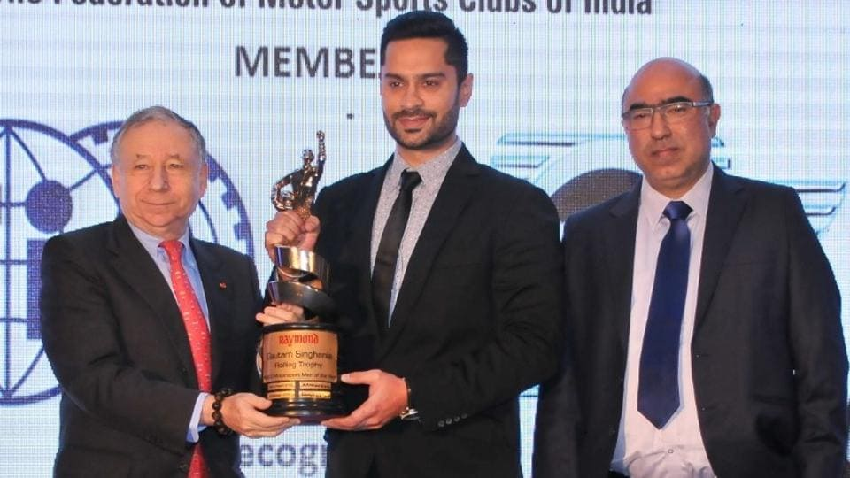 Gaurav Gill,Motor Sports Club of India,Jean Todt