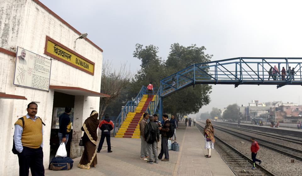 Delhi railway stations,Shakurbasti railway stations,Bijwasan railway station