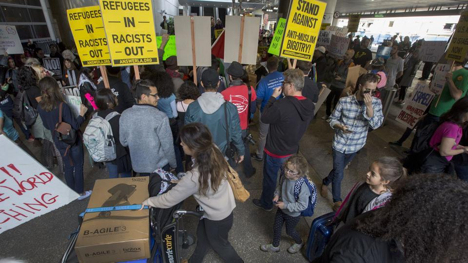 Donald Trump,US president,Immigration order
