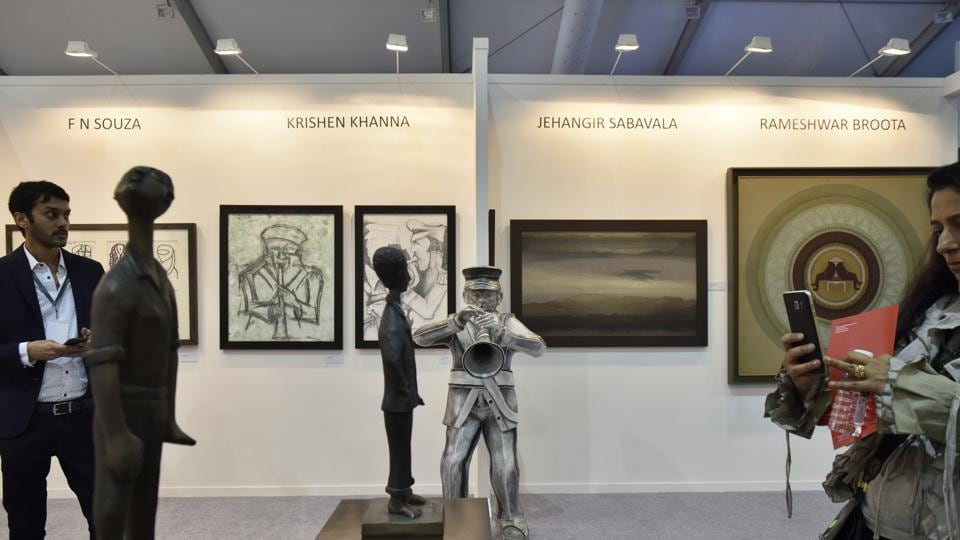 India Art Fair commenced at NSIC Ground in New Delhi.