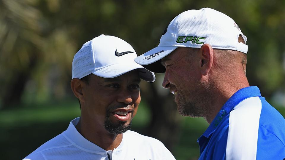 Thomas Bjorn won the 2001 Dubai Desert Classic when he defeated the then World No.1 Tiger Woods by two strokes.