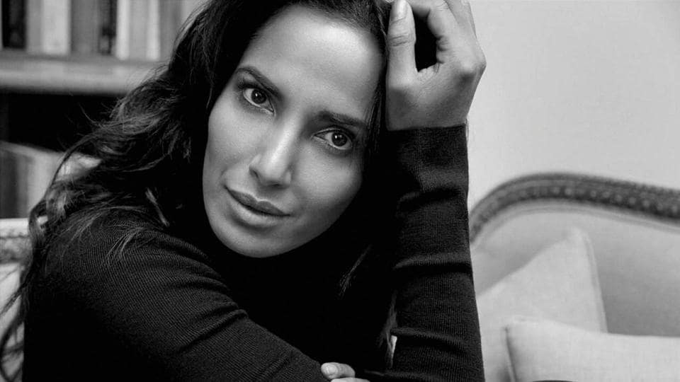 A file picture of supermodel Padma Lakshmi, who is in India to attend the Lakme Fashion Week being held in Mumbai.