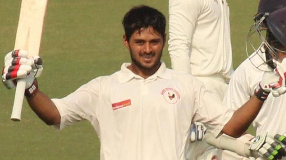 Priyank Panchal scored an unbeaten 40 to take India A to 91/1 against Bangladesh in the warm-up match in Hyderabad.