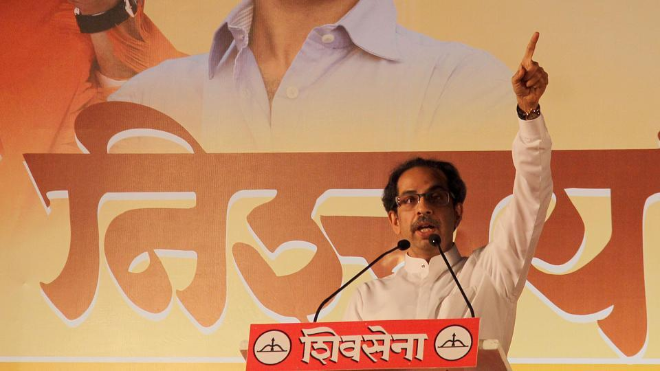 Uddhav called  the economic survey report released by the central government, where it rated the BMC the most transparent civic body in India,  a slap on the face of the BJP