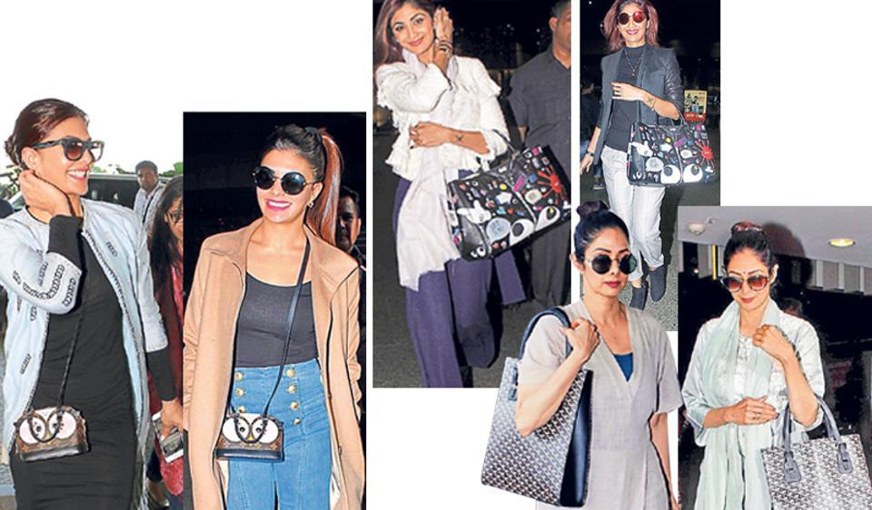 Bollywood's style brigade makes a statement by repeating their bags.