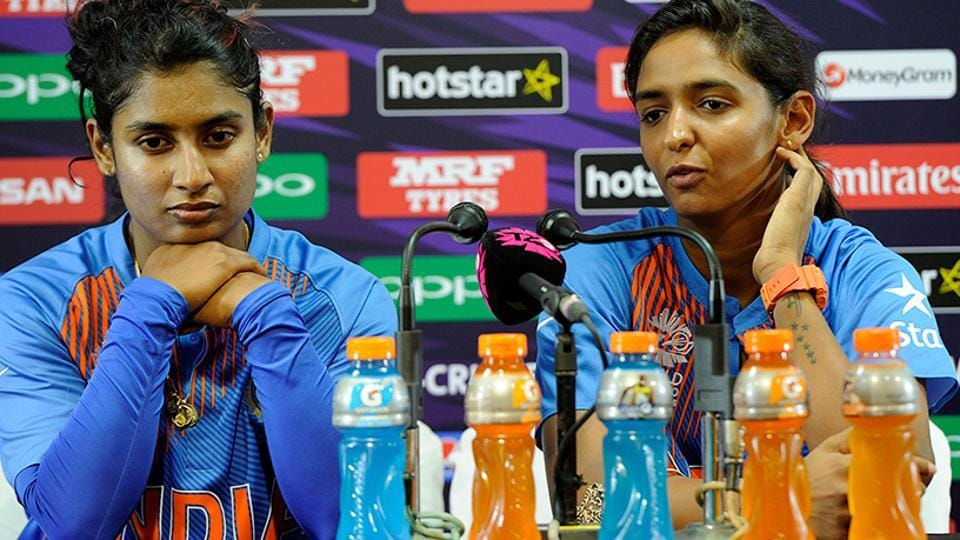 Indian women's cricket team skipper Mithali Raj (left) and Harmanpreet Kaur. Live streaming of  ICC Women's World Cup Qualifier 2017 will be available online