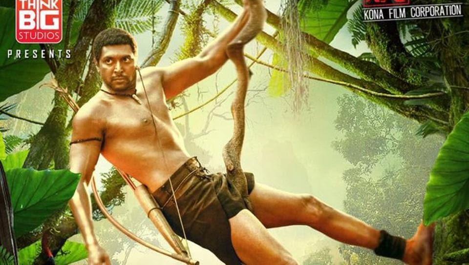 Vanamagan first look,Jayam Ravi,Jayam Ravi Vanamagan
