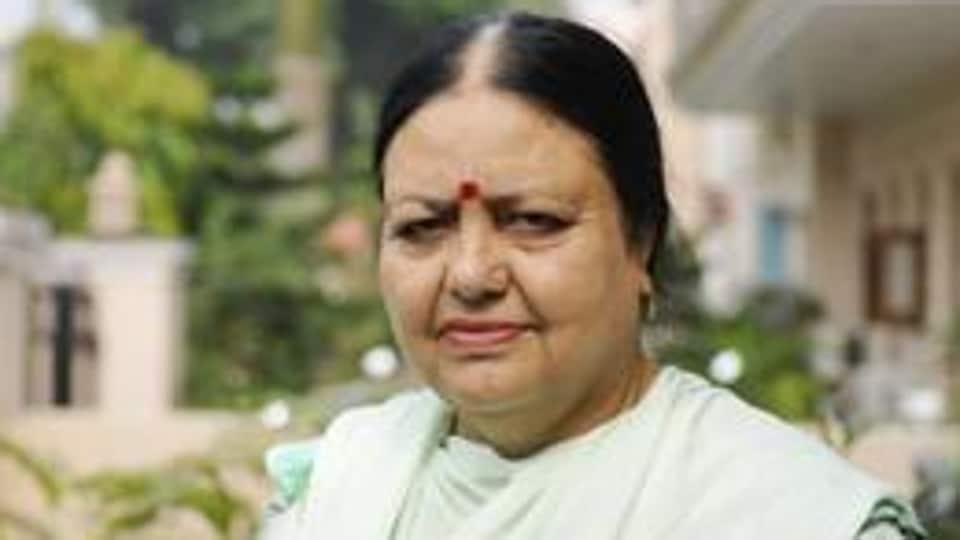 Chandigarh mayor,Asha Jaswal,trespass
