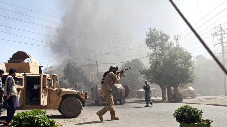 An Afghan diplomat was shot dead in the Afghan consulate in Pakistan's Karachi.
