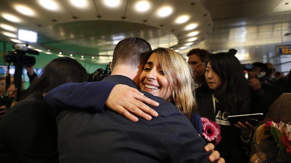 US airport,Travel ban,Donald Trump