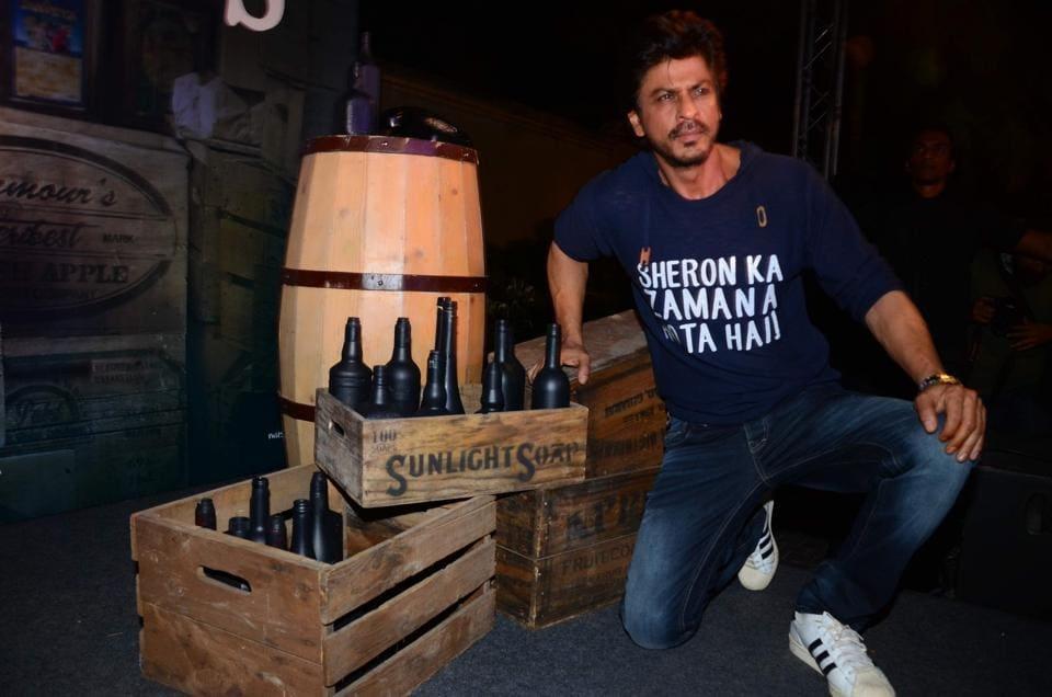 Mumbai: Actor Shah Rukh Khan during the success party of film