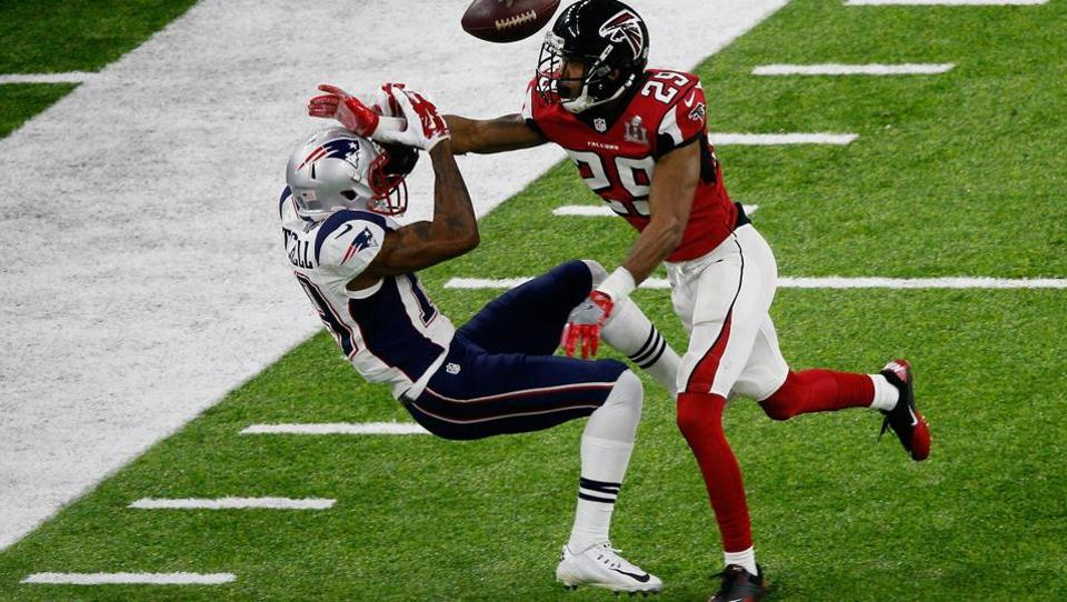 New England Patriots,Atlanta Falcons,Super Bowl