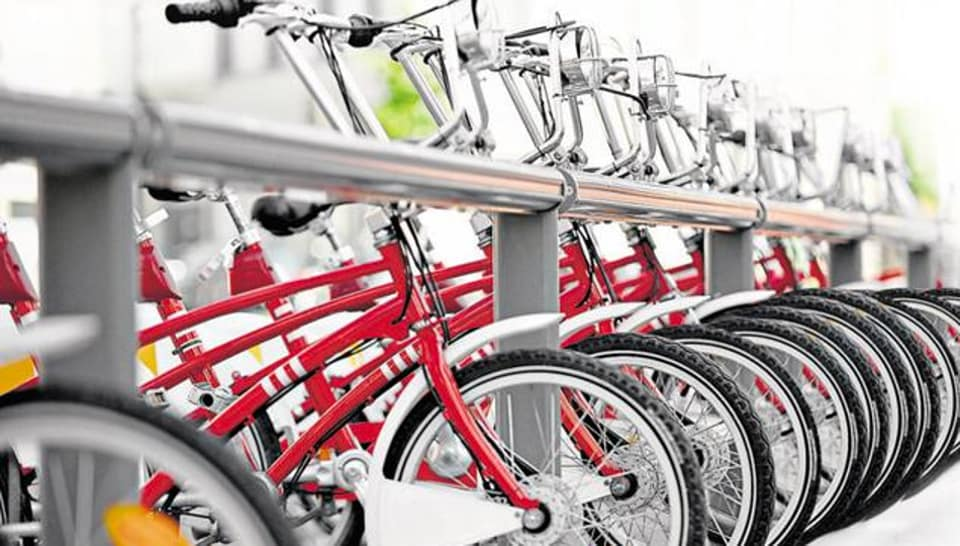 It is a move under smart city project and the authorities have planned to buy 10,000 bicycles for 600 busy points in the city.