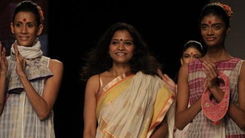 Indian Designer Vaishali S In Centre Is Set To Showcase Her New Line Chaatak