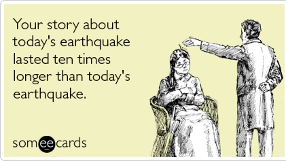 The jokes and memes on earthquake are breaking the internet since last night.