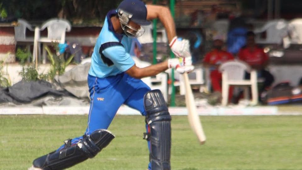 Mohit Ahlawat, who has played Ranji Trophy for Delhi,  blasted the first individual triple ton in Twenty20 on Tuesday when he scored an unbeaten 302 off just 72 balls in the Friends Premier League, a local tournament registered under DDCA.