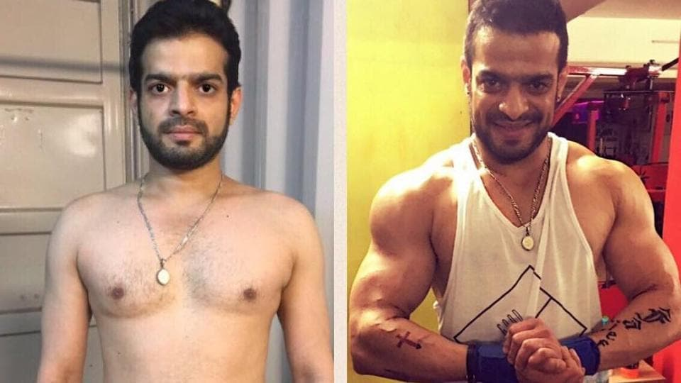 Karan Patel would regularly logged his progress on his page through several pictures.