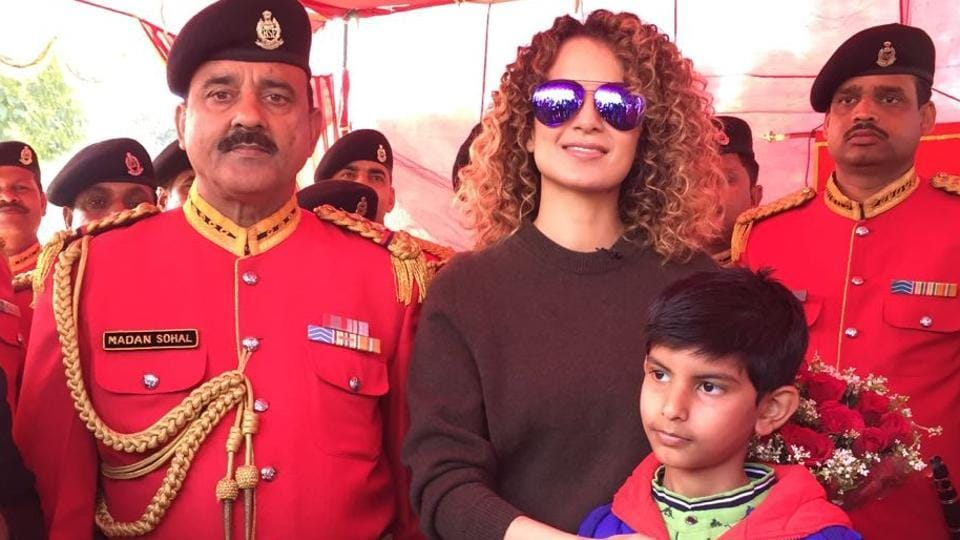 Kangana Ranaut is currently gearing up for the release of Vishal Bhardwaj's Rangoon that is set in the backdrop of World War II.