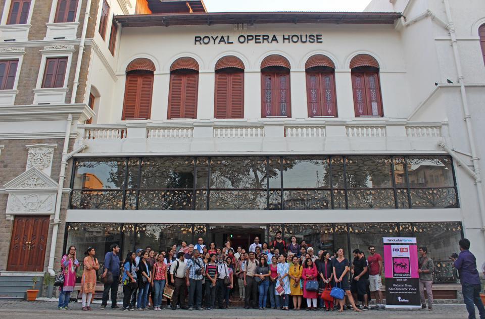 HT Kala Ghoda Arts Festival,Grant Road,Opera House