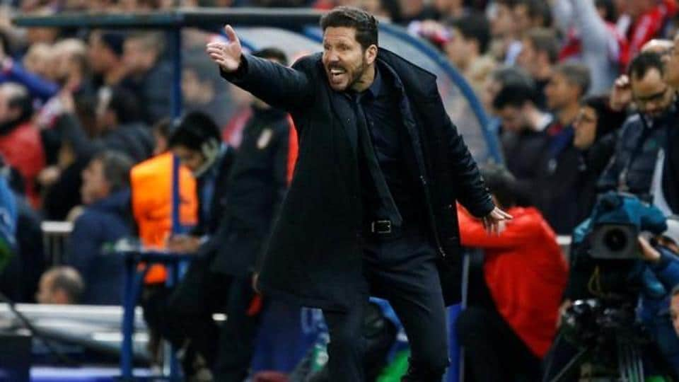 Atletico Madrid manager Diego Simeone will be without Gabi in the King's Cup semi-final against Barcelona.