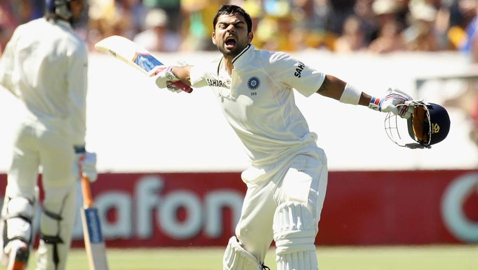 Virat Kohli has scored six centuries and three half-centuries against Australia inTests.
