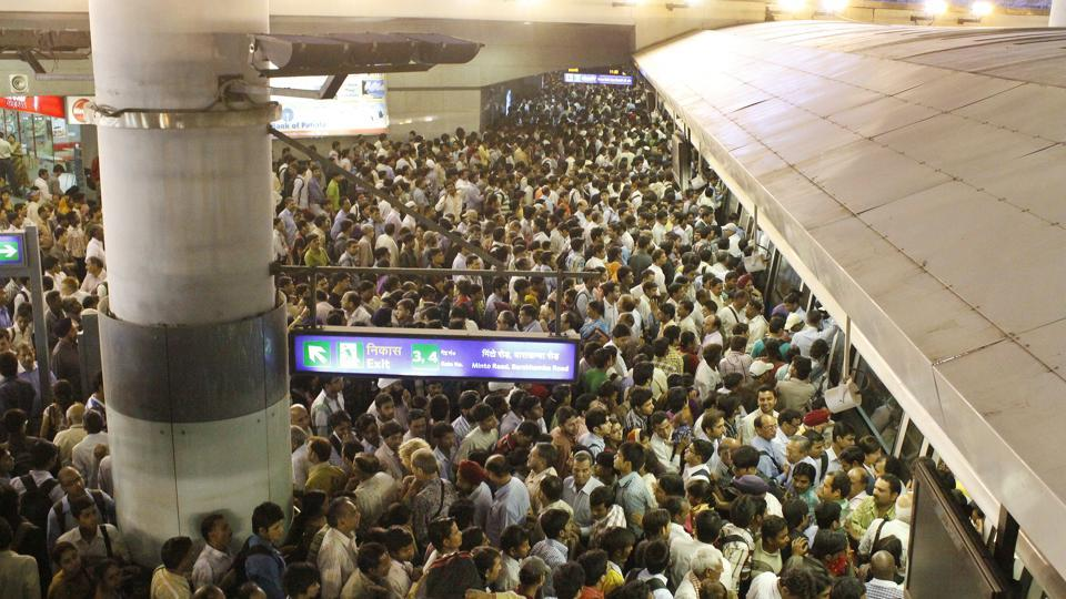 On Tuesday, train services were affected for more than two hours. Journey time for passengers doubled as trains were running at slow speed, which led to bunching of trains.